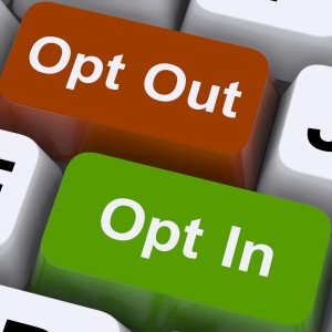 Opt-in-or-opt-out